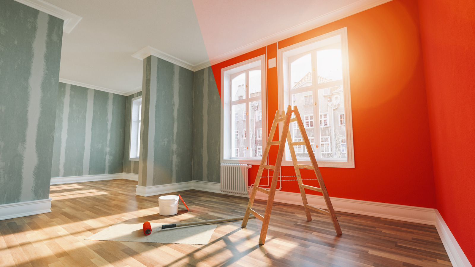 8 Best Ways To Get Rid Of Paint Smell, Best Way To Get Smell Out Of Laminate Flooring