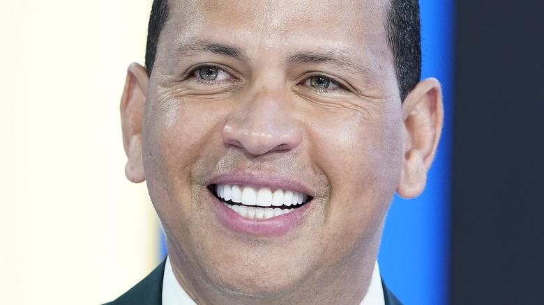 Alex Rodriguez close-up