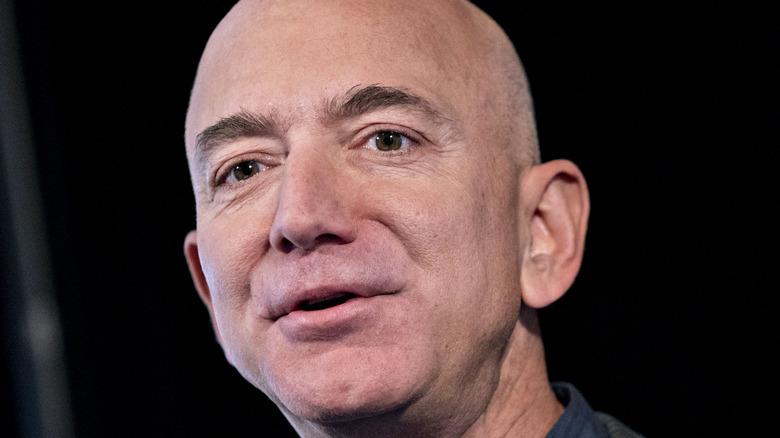 Jeff Bezos close-up