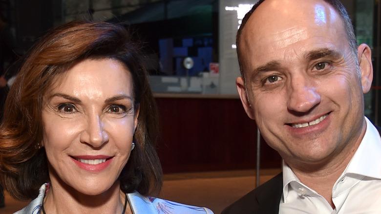 Hilary Farr and David Visentin