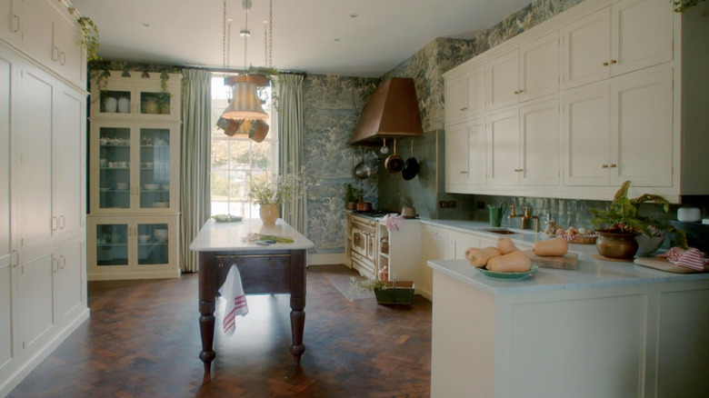 Trematon Castle in For the Love of Kitchens