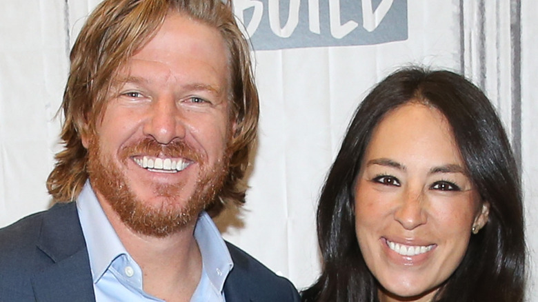 Chip and Joanna Gaines close-up