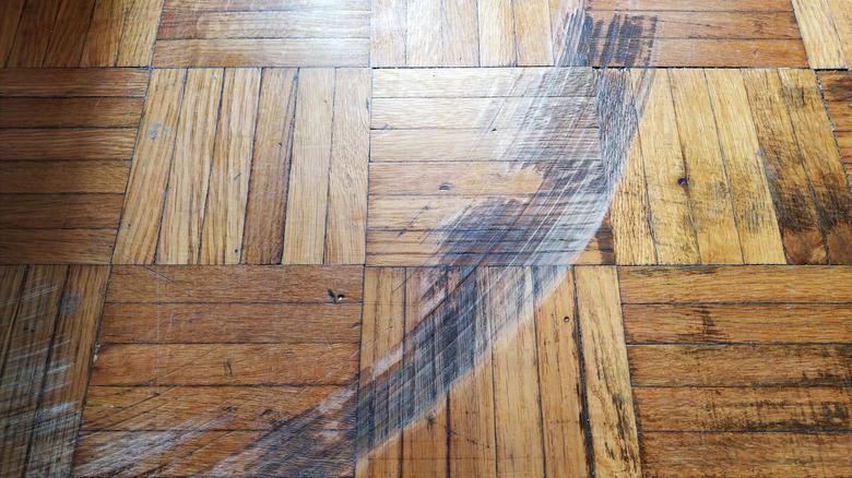 wood floor scratch parquet