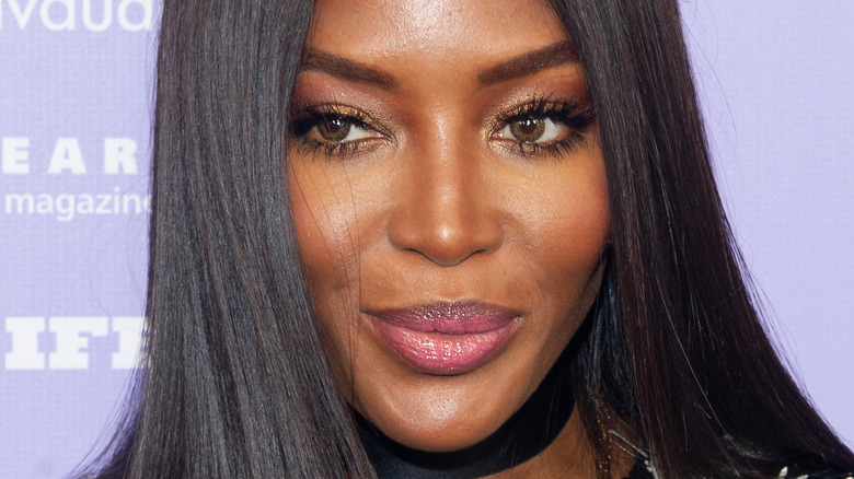 Naomi Campbell close-up