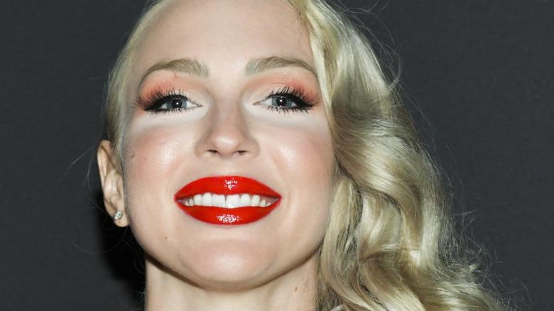 Christine Quinn close-up