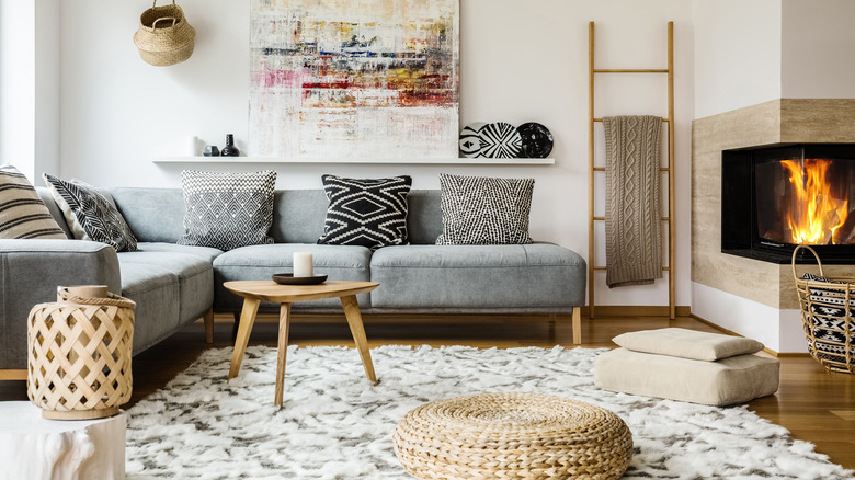 large boho area rug