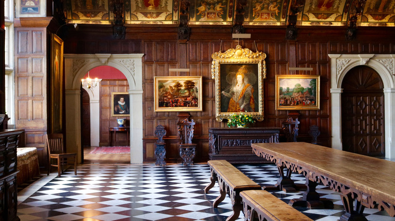 A room in the Hatfield House