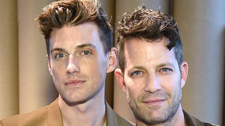 Nate Berkus and Jeremiah Brent close-up