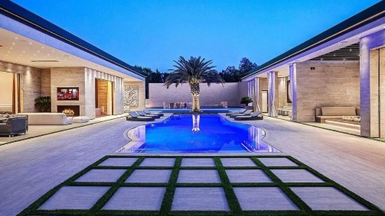 A shot of Kylie Jenner's new house