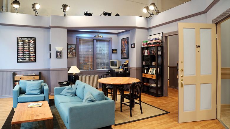 Jerry's Seinfeld apartment