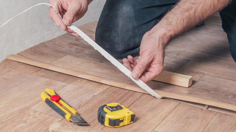 transition strip wood floor