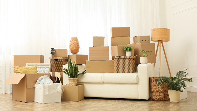 moving day boxes